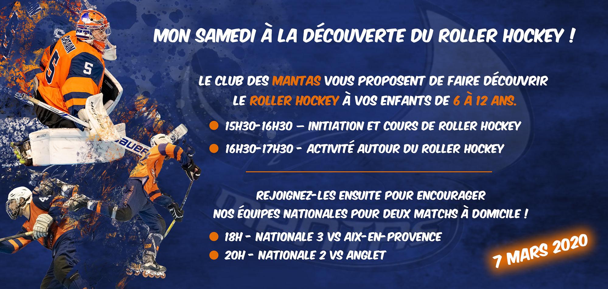 Découverte du Roller Hockey (07/03)
